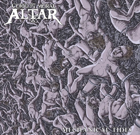 Corrupt Moral Altar - Mechanical Tides Front Cover HIRES